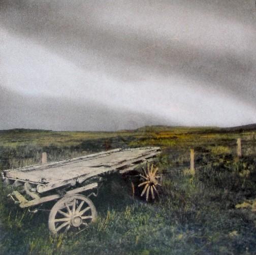 Rustic Hay Cart on Skye
