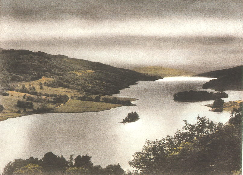 Queens'view on Loch Tummel