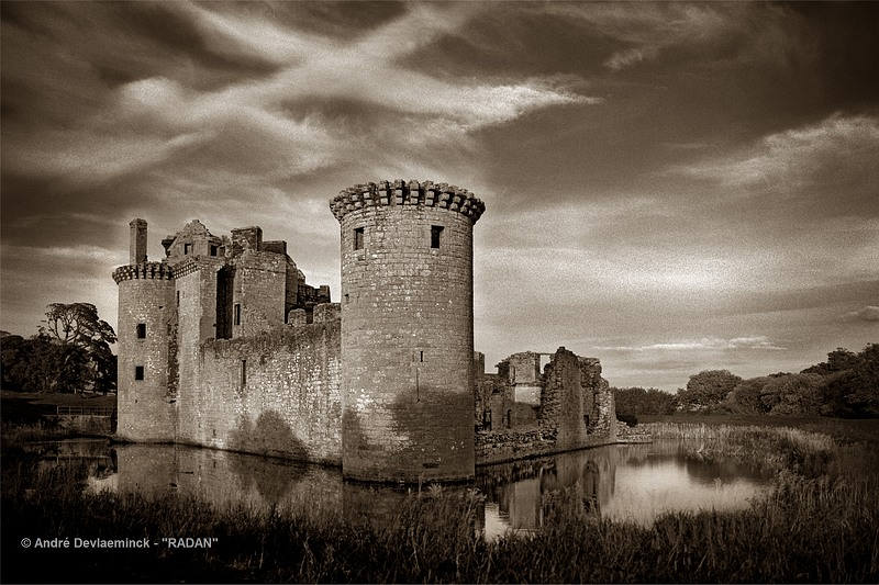 The Caerlaverock Castle