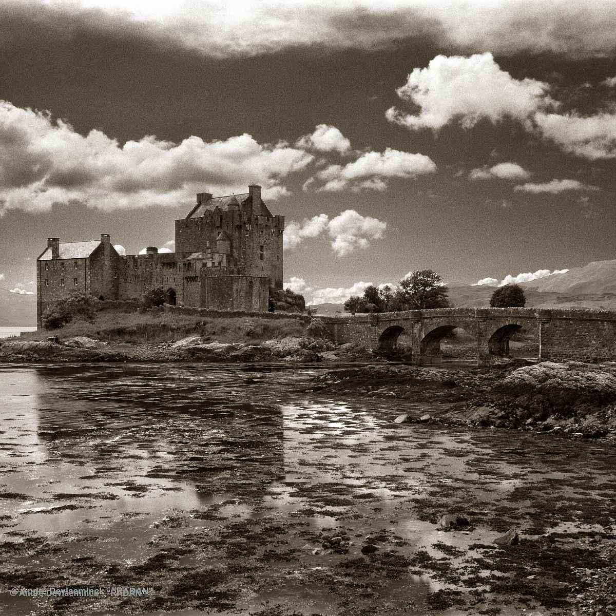 Fairy Eilean Donan Castle