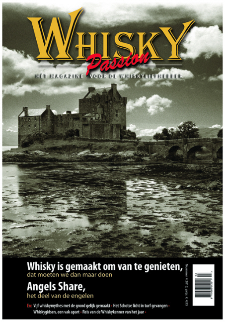 Cover and article in Whisky Passion 2012-4
