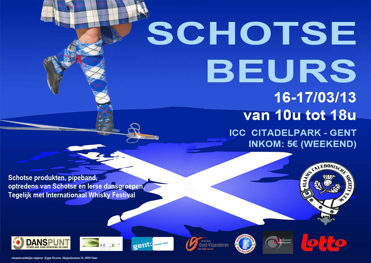 Flyer Schotse Beurs 2013
